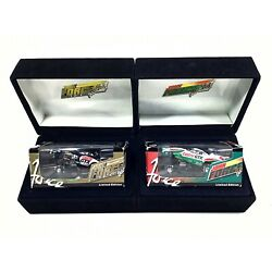 John Force Castrol Driver Of The Year 1997 NHRA Funny Car 1/64 Die-Cast Lot of 2