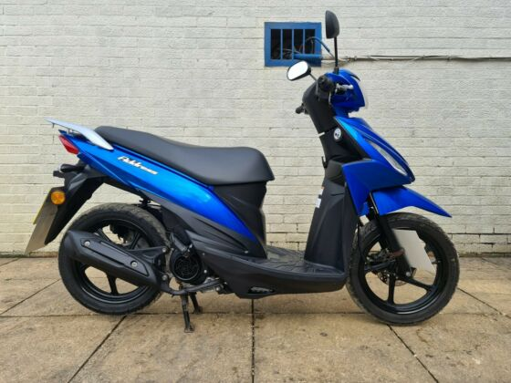 SUZUKI ADDRESS 110 CC 2018 SCOOTER ONLY 1772 MILES FROM NEW! 1 OWNER