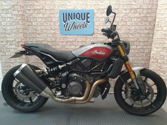 Indian FTR 1200 S 2020 Only 1740 Miles 1 Owner Tail Tidy De-Cat Link Pipe