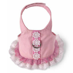 Flower Lace Doggie  Harness Dress, S (Chest 21''-24''), by Doggles, NWT