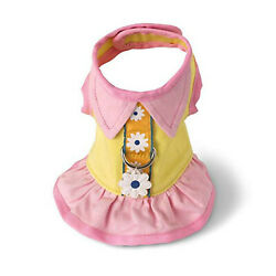 Ruffle Flower Doggie  Harness Dress, S (Chest 21''-24''), by Doggles, NWT
