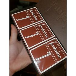 Fontaine Chocolate Edition Playing Cards - SEALED DECK RARE 1/10k EVER made