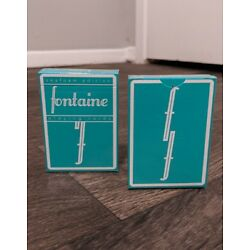 Fontaine Seafoam Edition Playing Cards | Sold Out | Sealed | 1 of 2500