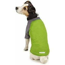 DOG INSECT SHIELD GREEN Insect Repellant T-Shirt for Protecting from Fleas LARGE