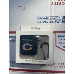 Chicago Bears Silicone Cover Compatible With Apple AirPod Case