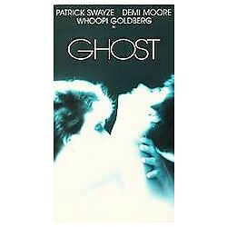 Ghost 1990 VHS Tape New Sealed Free Shipping