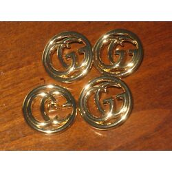 Gucci 2 buttons GOLD tone   23 mm  LARGE BUTTONS THIS IS FOR A LOT OF TWO