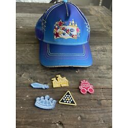 Abracadabra Disney 2018 YPO Rare Hat With removable patches NWOT