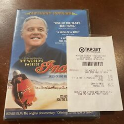 The World's Fastest Indian Brand New Factory Sealed Original Receipt Included