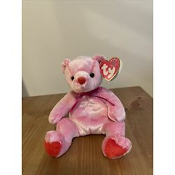 TY Beanie Baby - ROMANCE the Valentines Day Bear (7 inch)