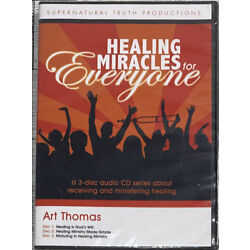 Healing Miracles For Everyone By Art Thomas [3-Disc Audio CD Series] SEALED!