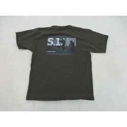 5.11 Tactical Shirt Adult Extra Large Brown Gray Military Law Enforcement Mens *