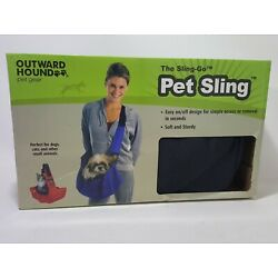 Outward Hound Sling-Go Pet Sling Carrier - Black  Small For Pets Up To 12 Pounds