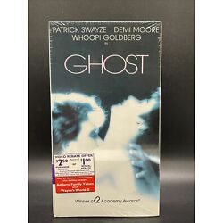 FACTORY SEALED ~ RARE ~ NEW Ghost 1990 VHS Tape New Sealed McDonalds Edition