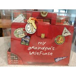 My Grandpa s Briefcase By P Hanson.  OOP.  NEW AND UNUSED. BEST INTERACTIVE BOOK