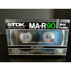TDK MA-R90 Metal Position Type IV Metal Alloy Cassette Tape NEW SEALED