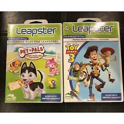 Leap Frog Leapster Learning Game 2 Pack: Disney Pixar Toy Story 3 & Pet Pals