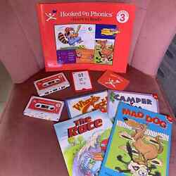 Hooked on Phonics Learn to Read Kits Level 3 Cassettes & Books