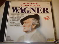 Masters Of Classical Music Wagner Vol 5 CD laserlight