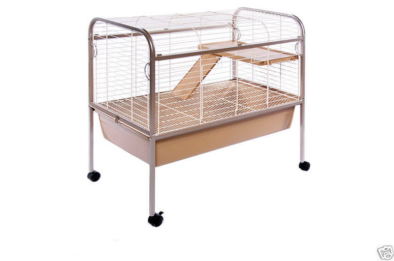 Prevue 425 rabbit bunny guinea pig cage hutch stand ebay for Guinea pig stand
