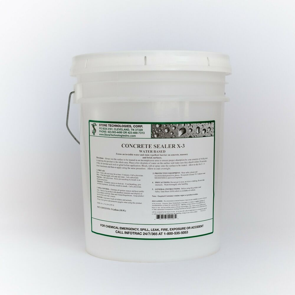 5 gallons underwater concrete sealer x 3 for pools koi