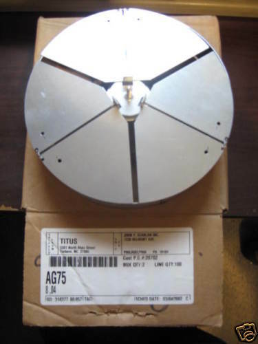 Titus Ag 75 Duct Mount Opposed Blade Steel Dampers 12 Quot Ebay
