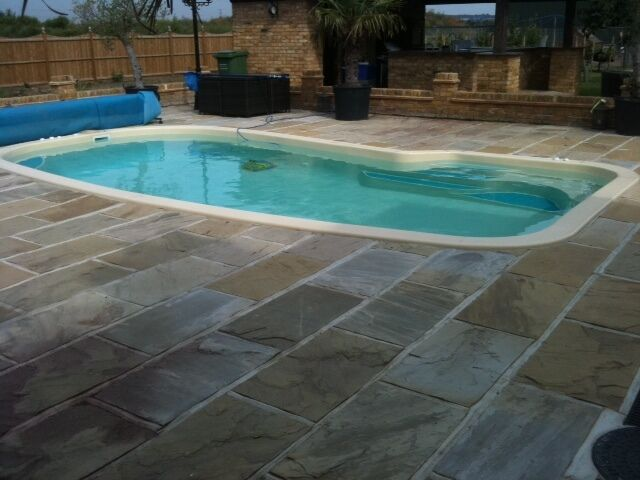 Oasis Fibreglass Swimming Pool Fiberglass Pool New Ebay