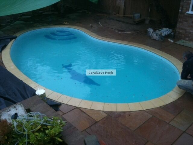 Teardrop Fibreglass Swimming Swim Spa Fiberglass Pool Ebay