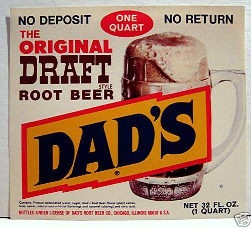 A  w root beer soda can safe