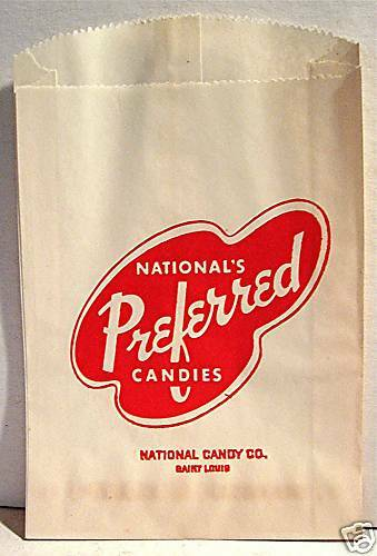 old preferred national candy company bags st louis mo