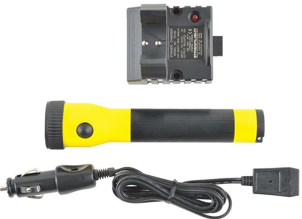 Streamlight Yellow Polystinger With Ac Charger 76001
