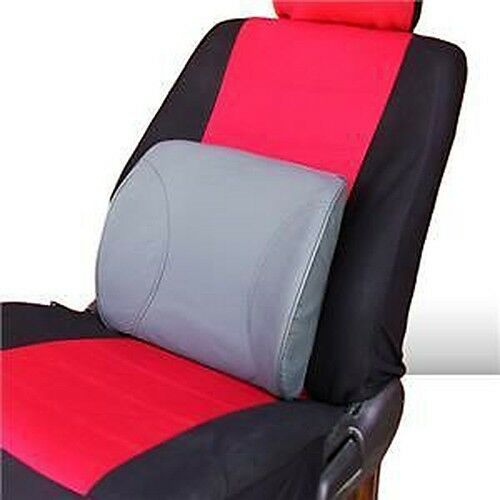 leather office car seat lumbar back pillow cushion support ebay