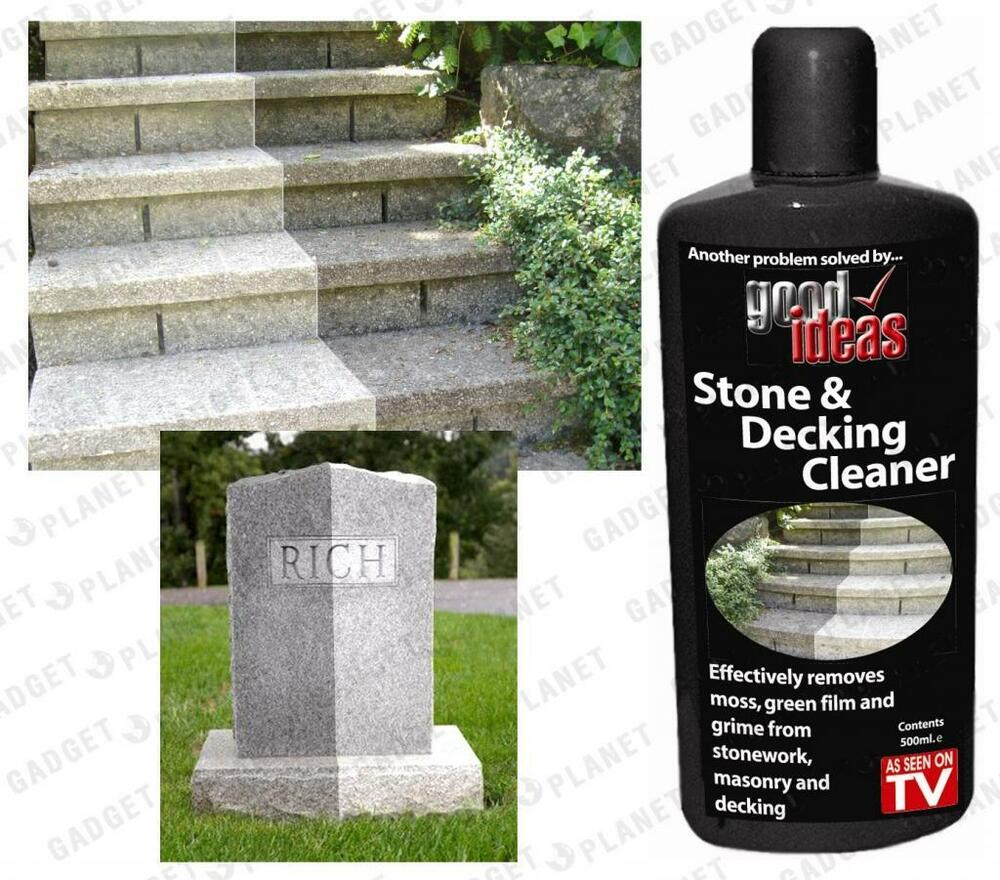 Stone Decking Patio Gravestone Driveway Paving Step Garden Furniture Cleaner Ebay