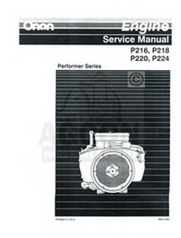 Onan Engine Parts Catalog : Onan p g engine service shop manual ebay