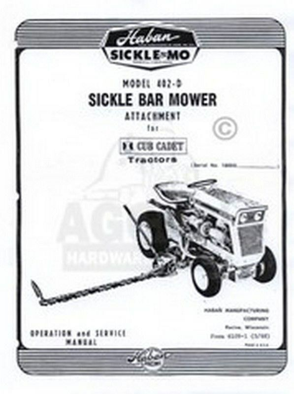 Haban mower Manual