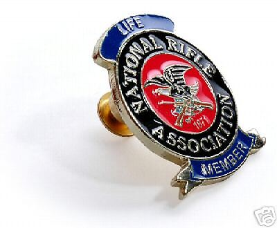 Nra National Rifle Association Life Member Lapel Pin Ebay
