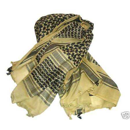 img-MENS MILITARY SHEMAGH SCARF ARMY ISSUE TA Arab Soldier 100% Cotton Desert Camo