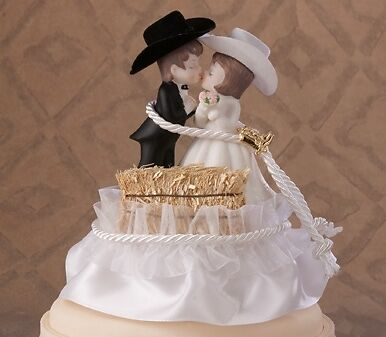 country couple wedding cake topper country wedding western hay bale cake topper ebay 12979
