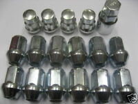 4 Locking Wheel nuts 12 new bolts toyota Celica Mr2 Alloy New Lug Tappered