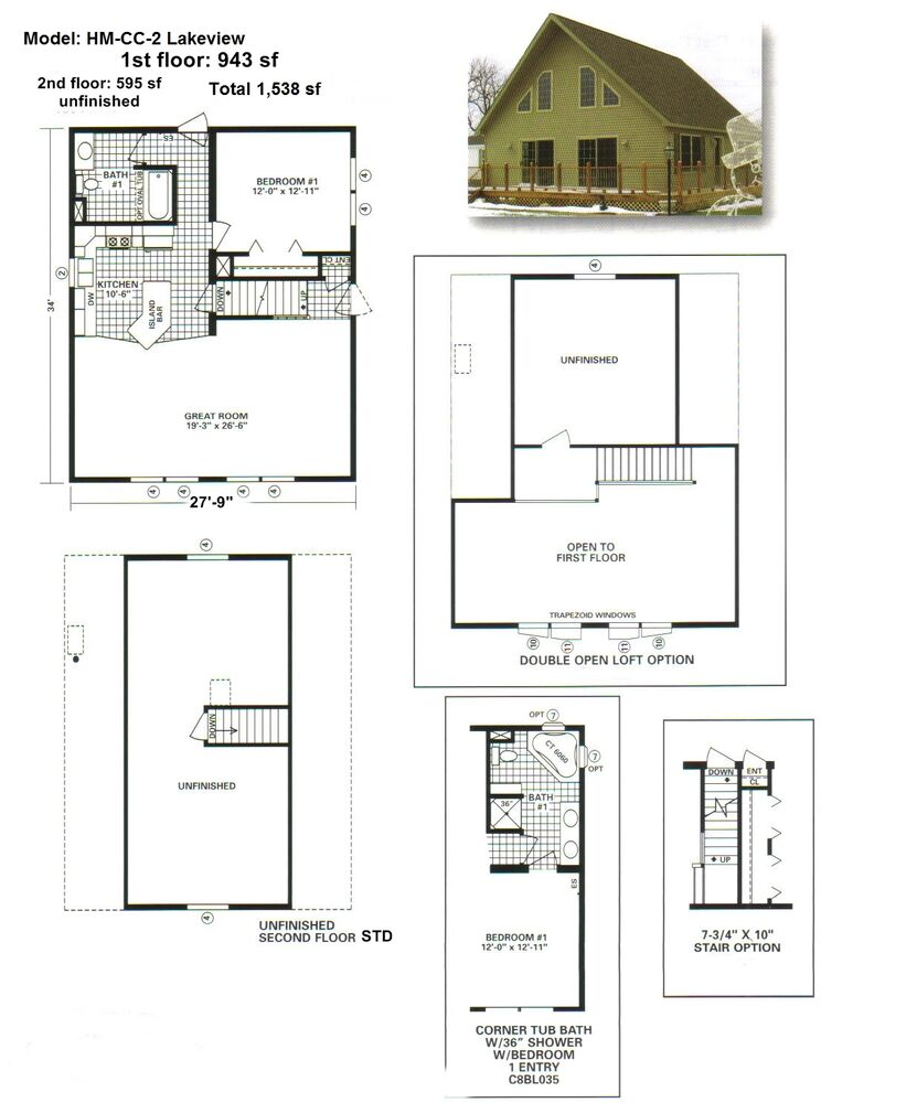New Modular Home 1 538 Sq Ft Great Opportunity Ebay