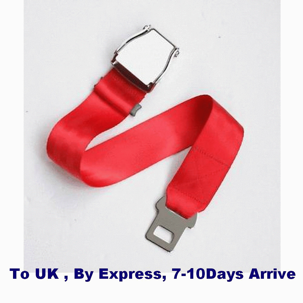 Airline Airplane Seat Belt Buckle Fashion Belt Adjustable