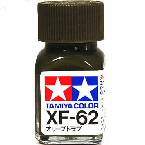 o tamiya color flat enamel paint xf 62 olive drab ebay. Black Bedroom Furniture Sets. Home Design Ideas