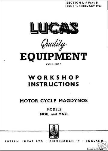 Lucas magdyno instructions