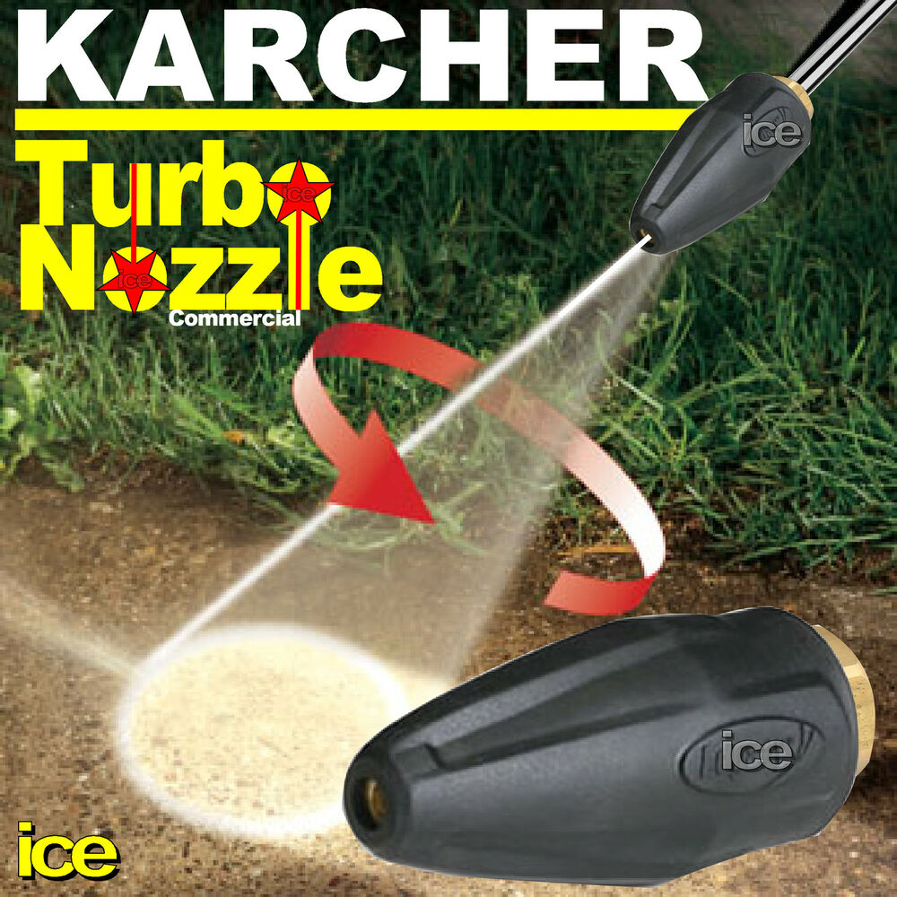 Karcher Commercial Turbo Nozzle Rotary Spinning
