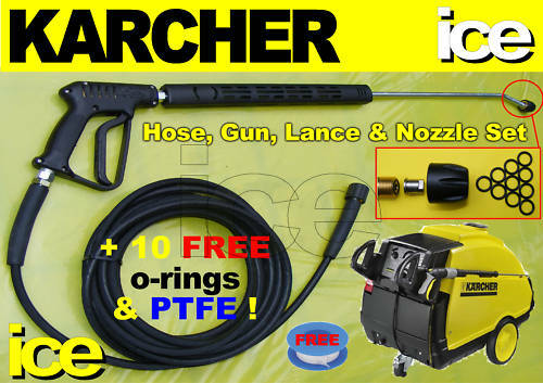 Karcher Replacement Steam Cleaner Hose Trigger Gun Lance