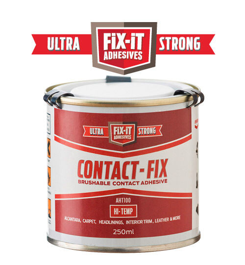 250ml heat resistant automotive grade contact carpet glue adhesive aht100 ebay. Black Bedroom Furniture Sets. Home Design Ideas