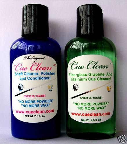 Quot Cue Clean Quot Combo Pack Pool And Snooker Shaft Cleaner Ebay
