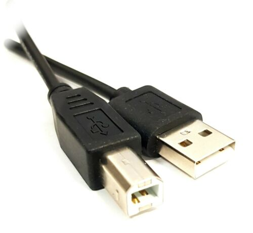 3M USB Cable V2.0 Type A to Type B For Scanner Printer PC Lead HP Epson