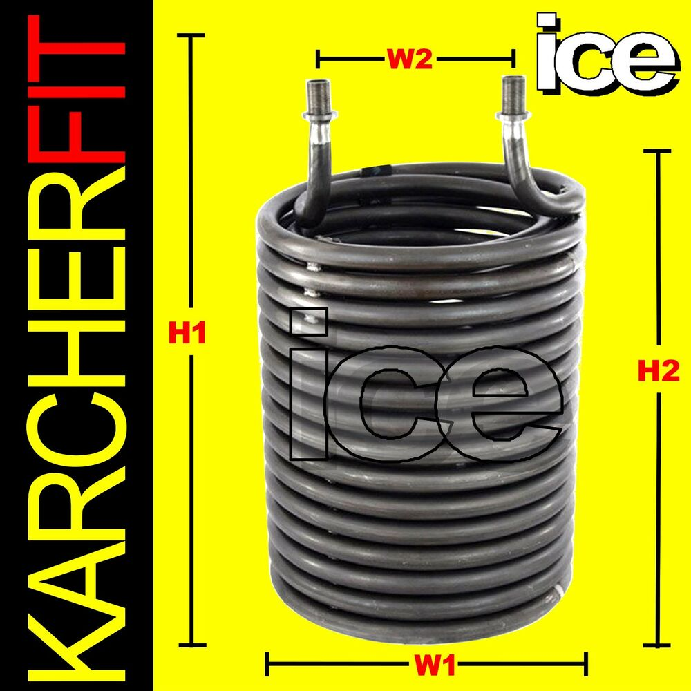 Coil For Boiler ~ Steam cleaner heating coil heat exchanger element karcher