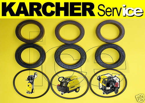 Genuine Karcher Hds Water Pump Pressure Seals Oring Kit